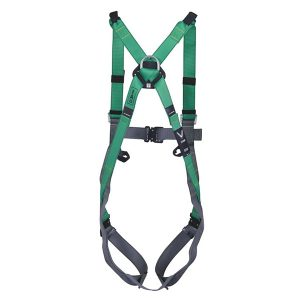 V-FORM™ Full Body Harness with back D-ring, front loops, 5 adjusters, Qwik-Fit Buckers