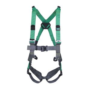 V-FORM™ Full Body Harness with back D-Ring, Front Loops, Shoulder Loops and Bayonet Buckles