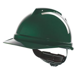 V-Gard® 500 Non-Vented Helmet with Fas-Trac III ratchet, sewn PVC s/b