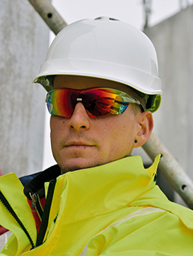 rainbow protective glasses